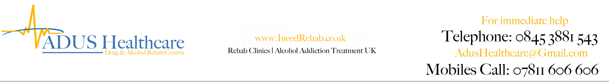 I Need Rehab | Alcohol & Drug Rehab